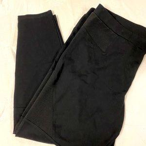 Dex ankle pants with elastic panels